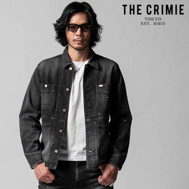 "CRIMIE(クライミー) BORN FREE II STRETCH BLACK GARAGE USED JACKET 【""THE"" SERIES COLLECTION 先行予約】【定番商品】【キャン"