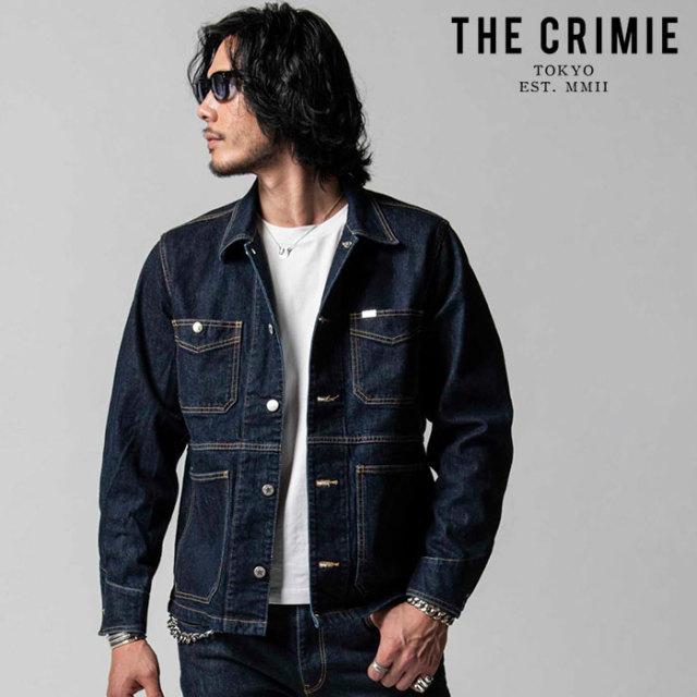 "CRIMIE(クライミー) BORN FREE II STRETCH SELVEDGE JACKET 【""THE"" SERIES COLLECTION 先行予約】【定番商品】【キャンセル不可】"
