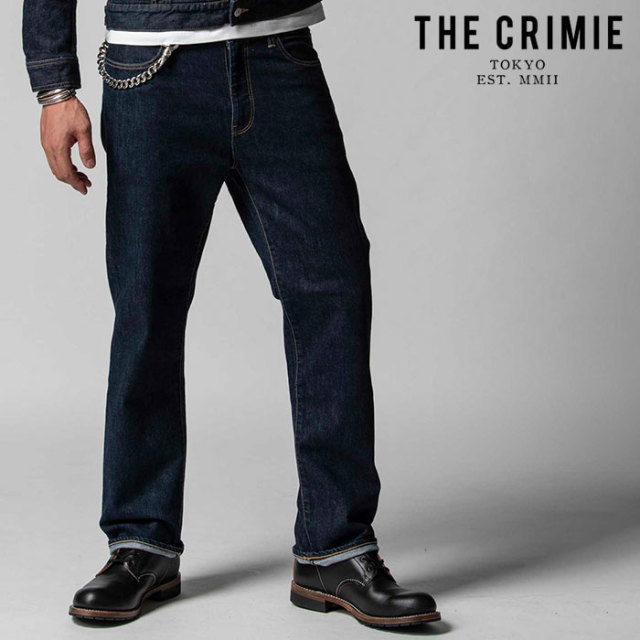 "CRIMIE(クライミー) BORN KILLER STRETCH SELVEDGE CLASSIC LOOSE JEANS 【""THE"" SERIES COLLECTION 先行予約】【定番商品】【キャ"