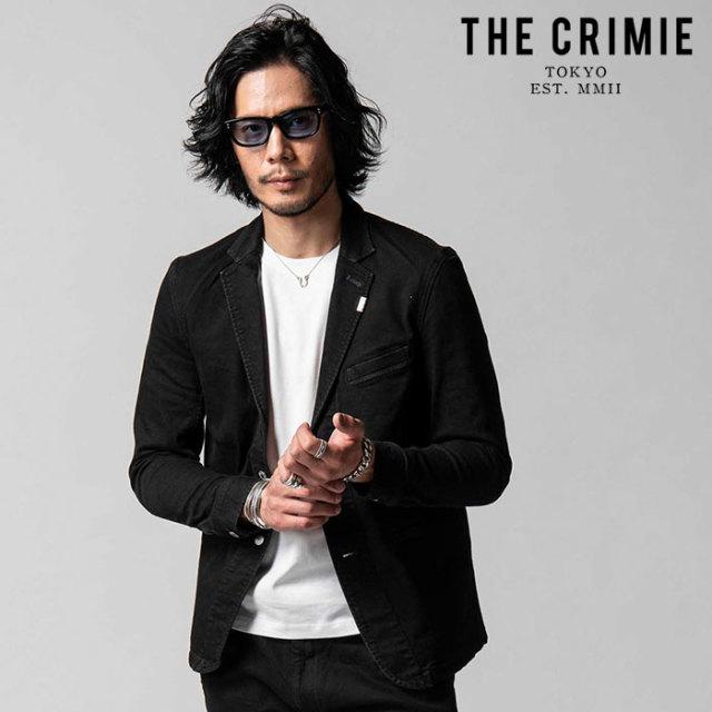 "CRIMIE(クライミー) BORN RUDE STRETCH BLACK JACKET 【""THE"" SERIES COLLECTION 先行予約】【定番商品】【キャンセル不可】【CRA1"
