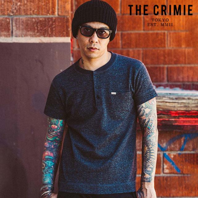 "CRIMIE(クライミー) TSURIAMI HENRY NECK T SHIRT 【""THE"" SERIES COLLECTION 先行予約】【定番商品】【キャンセル不可】【CRA1-CC"