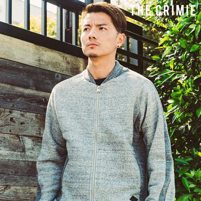 "CRIMIE(クライミー) TSURIAMI SWEAT TRACK JACKET 【""THE"" SERIES COLLECTION 先行予約】【定番商品】【キャンセル不可】【CRA1-CS"