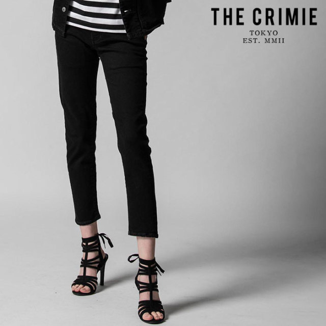"CRIMIE(クライミー) BORN SINNER STRETCH BLACK SLIM ANKLE JEANS  【""THE"" SERIES COLLECTION 先行予約】【定番商品】【キャンセ"