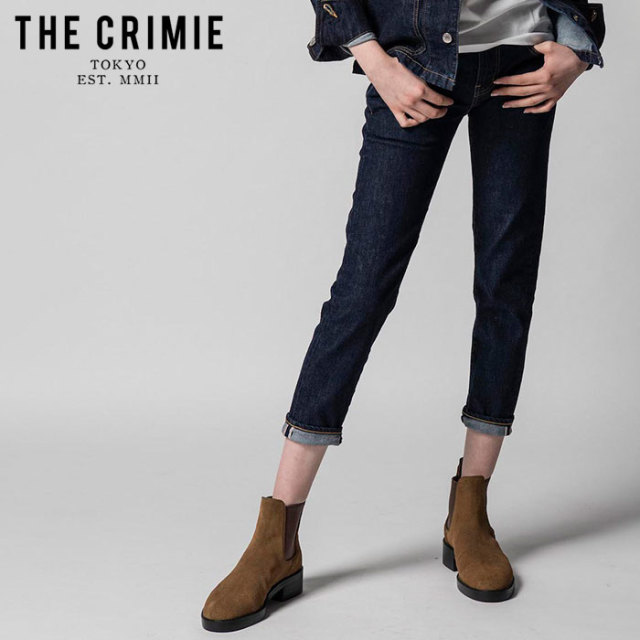 "CRIMIE(クライミー) BORN SINNER STRETCH SELVEDGE SLIM ANKLE JEANS  【""THE"" SERIES COLLECTION 先行予約】【定番商品】【キャン"