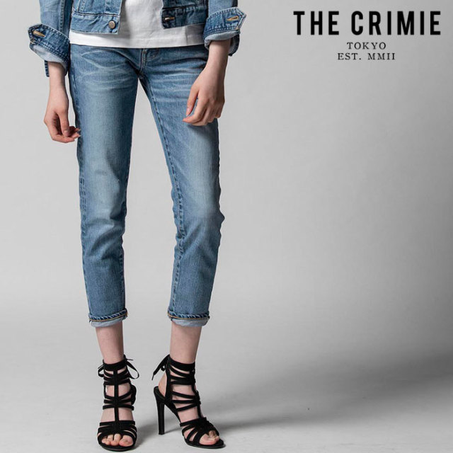 "CRIMIE(クライミー) BORN SINNER STRETCH SELVEDGE CALIFORNIA USED SLIM ANKLE JEANS 【""THE"" SERIES COLLECTION 先行予約】【定"