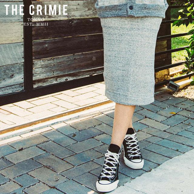 "CRIMIE(クライミー) TSURIAMI SWEAT SKIRT 【""THE"" SERIES COLLECTION 先行予約】【定番商品】【キャンセル不可】【CRA2-CSW1-SK01"