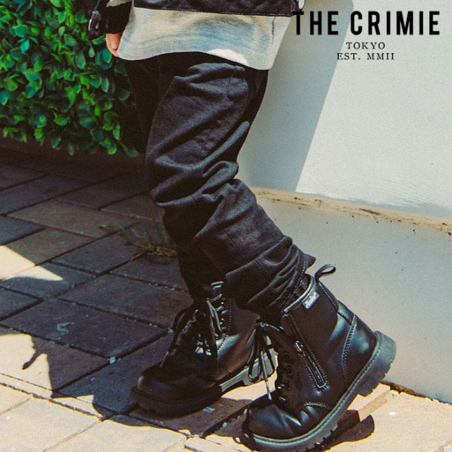 "CRIMIE(クライミー) BORN SILLY STRETCH BLACK SLIM JEANS 【""THE"" SERIES COLLECTION 先行予約】【定番商品】【キャンセル不可】"