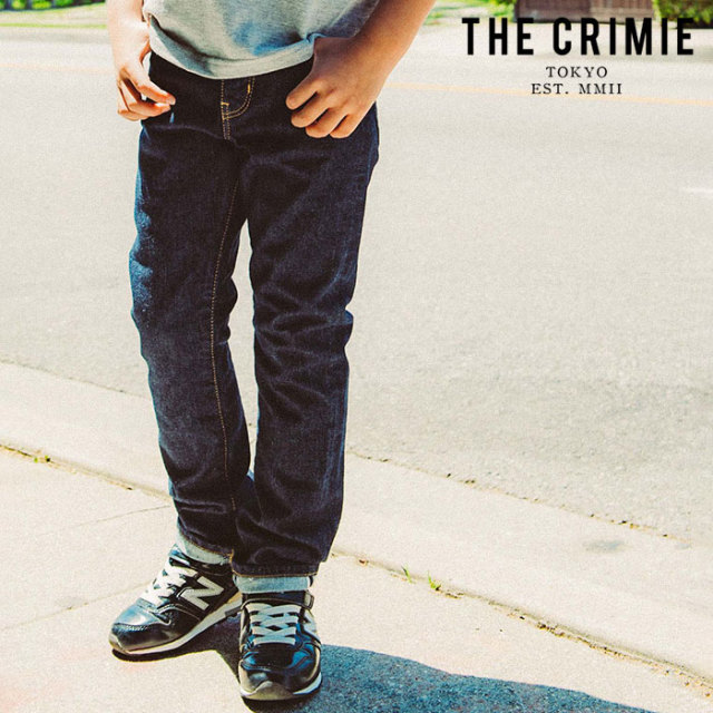 "CRIMIE(クライミー) BORN SILLY STRETCH SELVEDGE SLIM JEANS 【""THE"" SERIES COLLECTION 先行予約】【定番商品】【キャンセル不可"