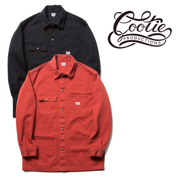 COOTIE(クーティー) Twill Coverall(BLACK)