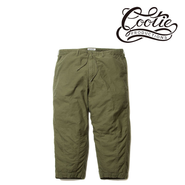 COOTIE(クーティー)Back Satin Loose Fit Pants(OLIVE)
