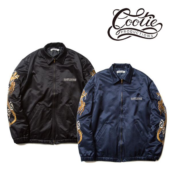 COOTIE(クーティー) Souvenir Jacket(BLACK)