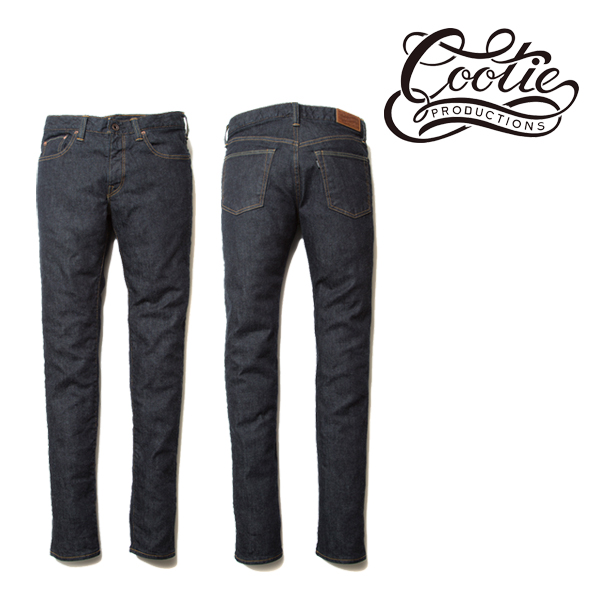 COOTIE(クーティー)  5 Pocket Skinny Denim (INDIGO)