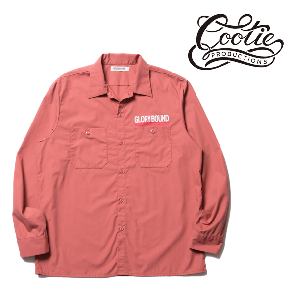 COOTIE(クーティー) T/C Work Shirt (PINK)