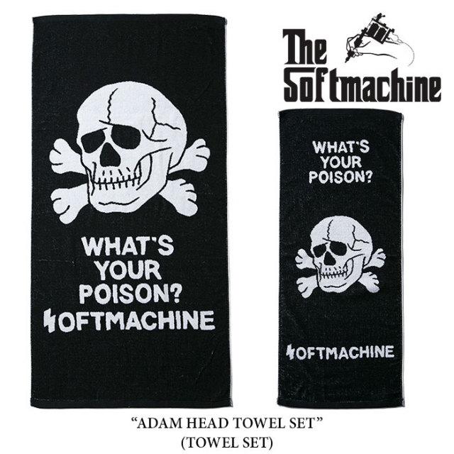 SOFTMACHINE(ソフトマシーン) ADAM HEAD TOWEL SET(TOWEL SET) 【先行予約】【キャンセル不可】 【SOFTMACHINE タオルセット】