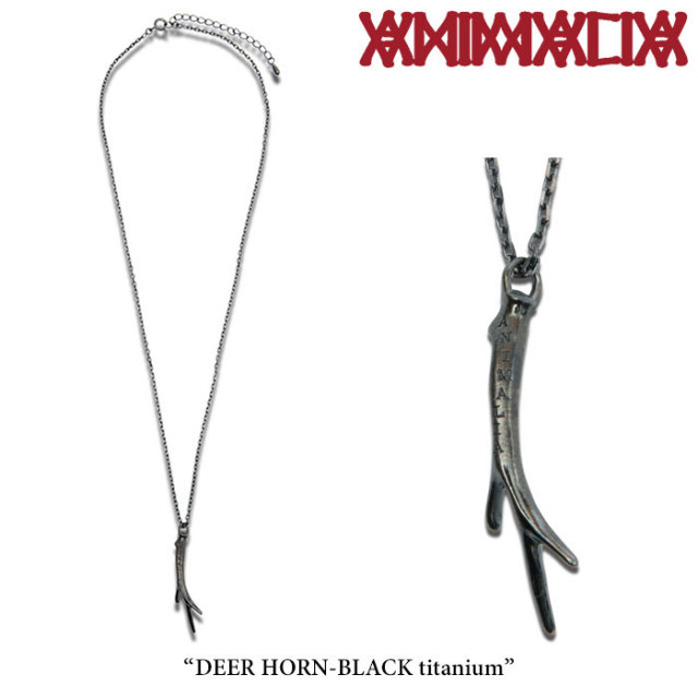 ANIMALIA(アニマリア) DEER HORN-BLACK titanium 【2018SPRING 先行予約】 【送料無料】【キャンセル不可】 【THE CHERRY COKE$