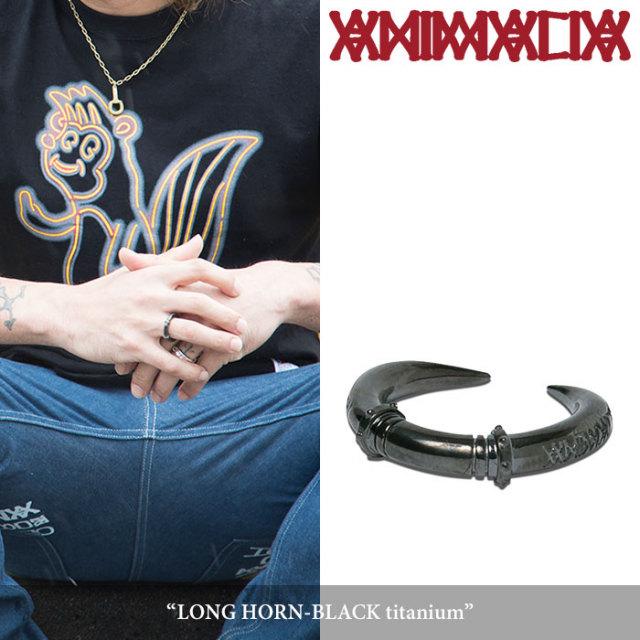 ANIMALIA(アニマリア) LONG HORN-BLACK titanium 【先行予約】 【送料無料】【キャンセル不可】 【THE CHERRY COKE$】 【チェリ