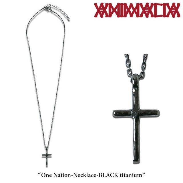 ANIMALIA(アニマリア) One Nation-Necklace-BLACK titanium 【先行予約】 【送料無料】【キャンセル不可】 【THE CHERRY COKE$】