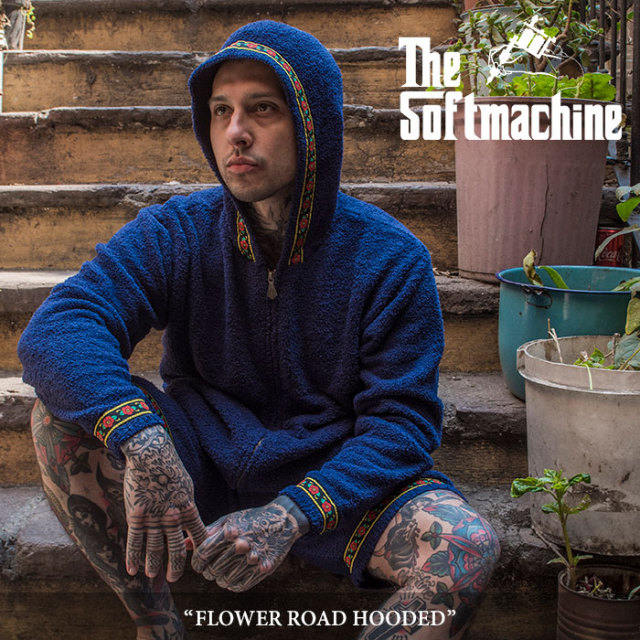 SOFTMACHINE(ソフトマシーン) FLOWER ROAD HOODED(PILE PARKA) 【2018SUMMER VACATION先行予約】 【送料無料】【キャンセル不可】