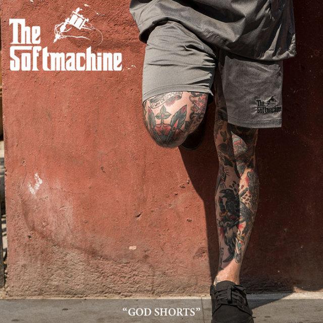 SOFTMACHINE(ソフトマシーン) GOD SHORTS(SHORTS PANTS) 【2018SUMMER VACATION先行予約】 【送料無料】【キャンセル不可】