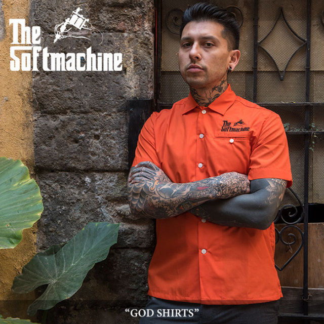 SOFTMACHINE(ソフトマシーン) GOD SHIRT(S/S SHIRTS) 【2018SUMMER VACATION新作】