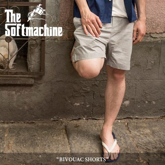 SOFTMACHINE(ソフトマシーン) BIVOUAC SHORTS(CLIMBING SHORTS PANTS) 【2018SUMMER VACATION先行予約】 【送料無料】【キャンセ