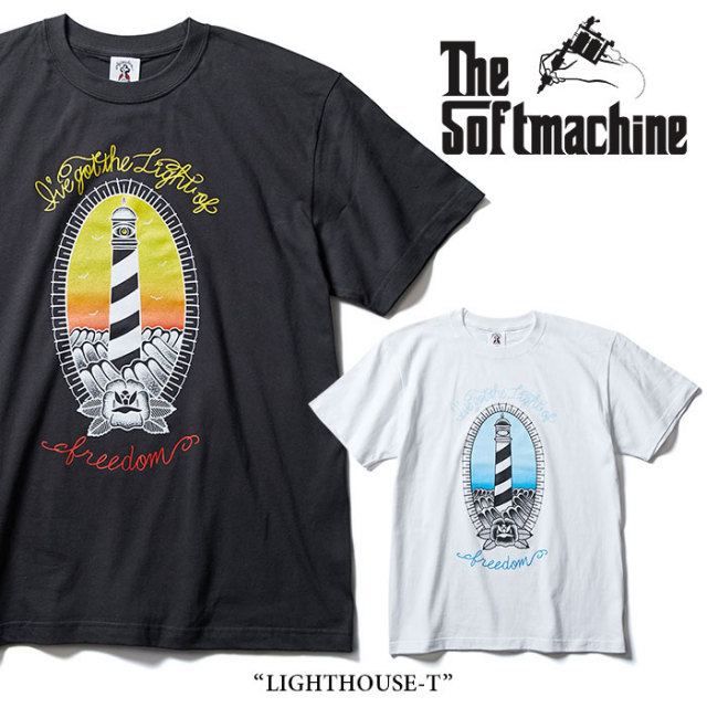 SOFTMACHINE(ソフトマシーン) LIGHTHOUSE-T(T-SHIRTS) 【2018SUMMER VACATION新作】 【即発送可能】