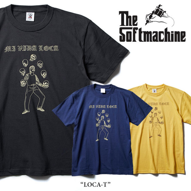 SOFTMACHINE(ソフトマシーン) LOCA-T(T-SHIRTS) 【2018SUMMER VACATION新作】