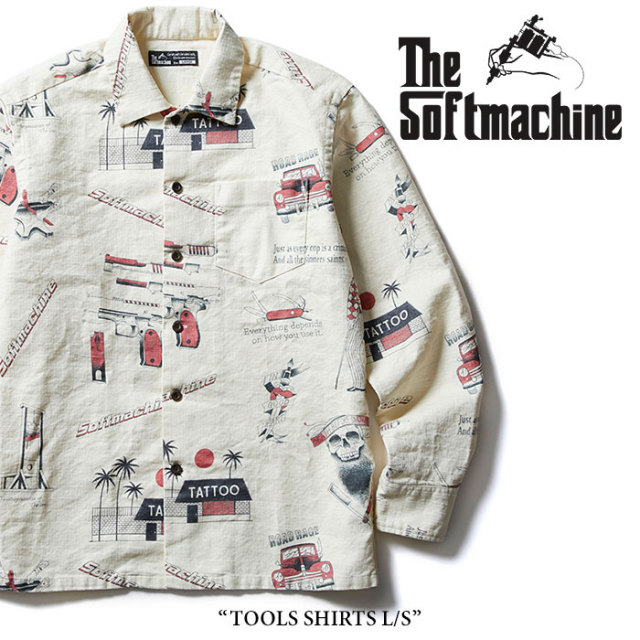 SOFTMACHINE(ソフトマシーン) TOOLS SHIRTS L/S(L/S SHIRTS) 【2018SUMMER VACATION新作】