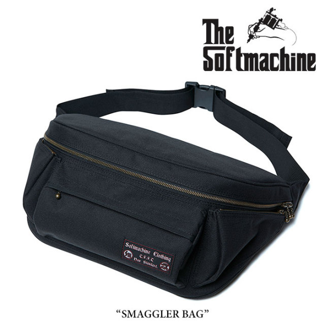 SOFTMACHINE(ソフトマシーン) SMAGGLER BAG(LARGE SIZE WEST BAG) 【2018SUMMER VACATION先行予約】 【送料無料】【キャンセル不