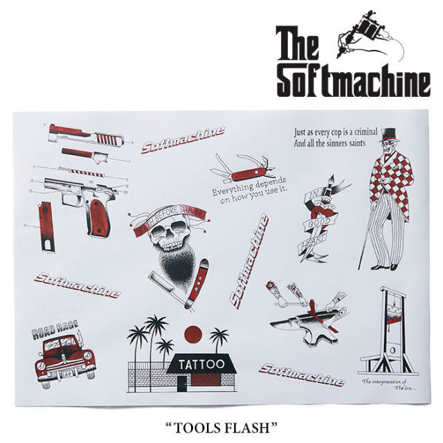 SOFTMACHINE(ソフトマシーン) TOOLS FLASH(FLASH) 【2018SUMMER VACATION新作】