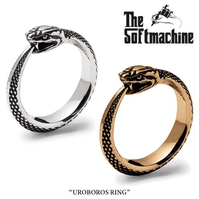SOFTMACHINE (ソフトマシーン)  UROBOROS RING 【リング シルバー 指輪 アクセサリー】【送料無料】