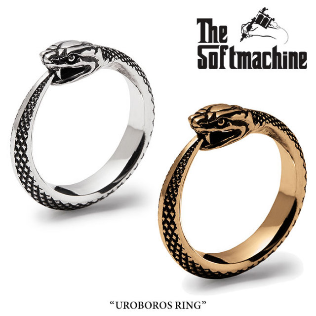 SOFTMACHINE(ソフトマシーン) UROBOROS RING 【先行予約】【送料無料】【キャンセル不可】