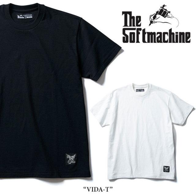 SOFTMACHINE(ソフトマシーン) VIDA-T(T-SHIRTS) 【2018SUMMER VACATION先行予約】 【キャンセル不可】 【SOFTMACHINE Tシャツ】