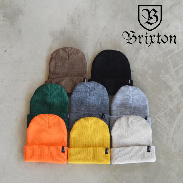 BRIXTON(ブリクストン) HEIST BEANIE 【ビーニー ニット帽 帽子】【ブリクストン ニットキャップ 定番 人気 シンプル】