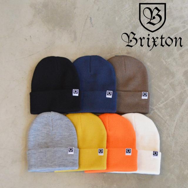 BRIXTON(ブリクストン) HARBOR BETA WATCH CAP BEANIE 【ビーニー ニット帽】【ブリクストン ニットキャップ 定番 人気 シンプル】