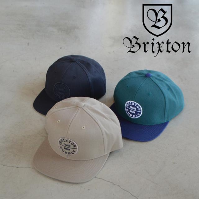 BRIXTON(ブリクストン) OATH III SNAPBACK CAP 【スナップバックキャップ 帽子】【ブリクストン キャップ 定番 人気 シンプル】