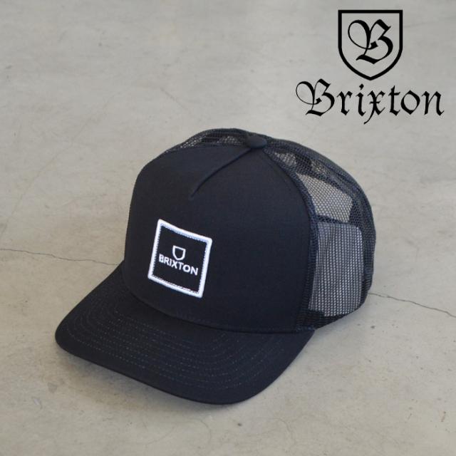 BRIXTON(ブリクストン) ALPHA BLOCK X C MP MESH CAP 【メッシュ キャップ 帽子】【2021 SPRING新作】