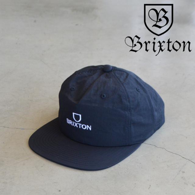 BRIXTON(ブリクストン) ALPHA MP SNAPBACK CAP (BKWHT) 【5パネルキャップ キャップ 帽子】【ブリクストン キャップ】【定番 人気