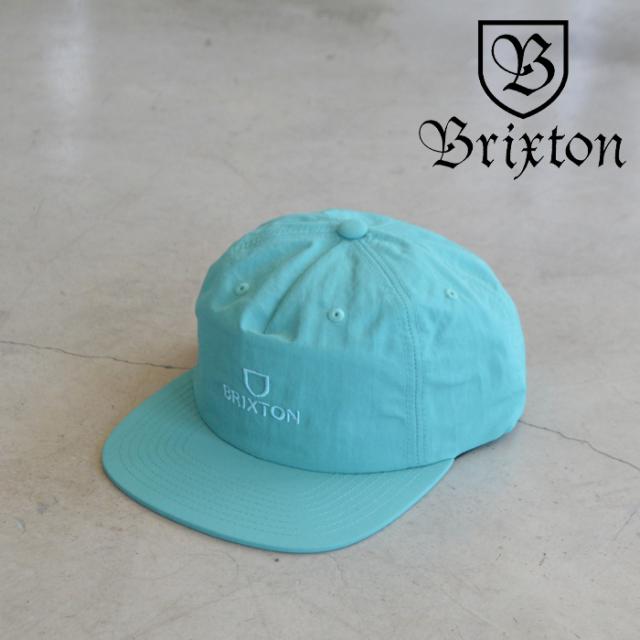 BRIXTON(ブリクストン) ALPHA MP SNAPBACK CAP (OCEAN) 【5パネルキャップ キャップ 帽子】【ブリクストン キャップ】【定番 人気