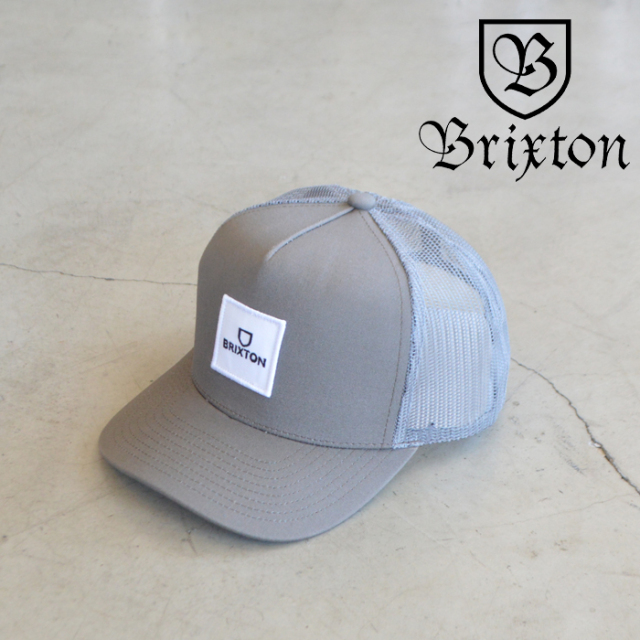 BRIXTON(ブリクストン) ALPHA BLOCK X C MP MESH CAP(PNBRK) 【5パネル メッシュキャップ キャップ 帽子】【ブリクストン キャップ