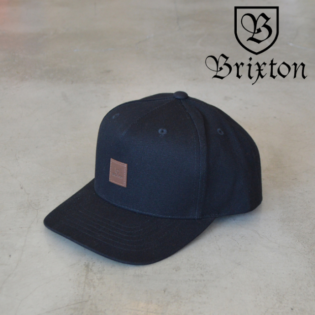 BRIXTON(ブリクストン) ALPHA C MP SNAPBACK 【キャップ 帽子】【2020FALL新作】