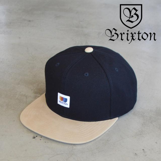 BRIXTON(ブリクストン) ALTON MP SNAPBACK CAP 【スナップバック キャップ 帽子】【ブリクストン キャップ】【定番 人気 シンプル