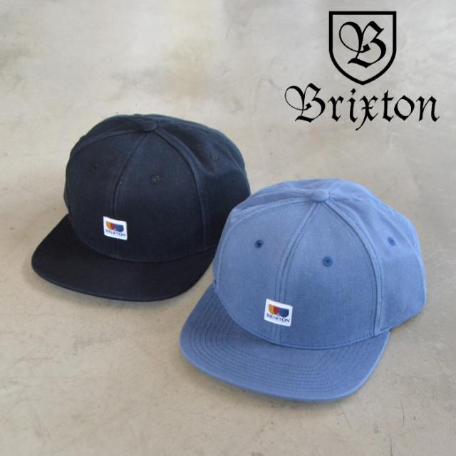 BRIXTON(ブリクストン) ALTON MP SNAPBACK CAP 【スナップバック キャップ 帽子】【ブリクストン キャップ 定番 人気 シンプル】