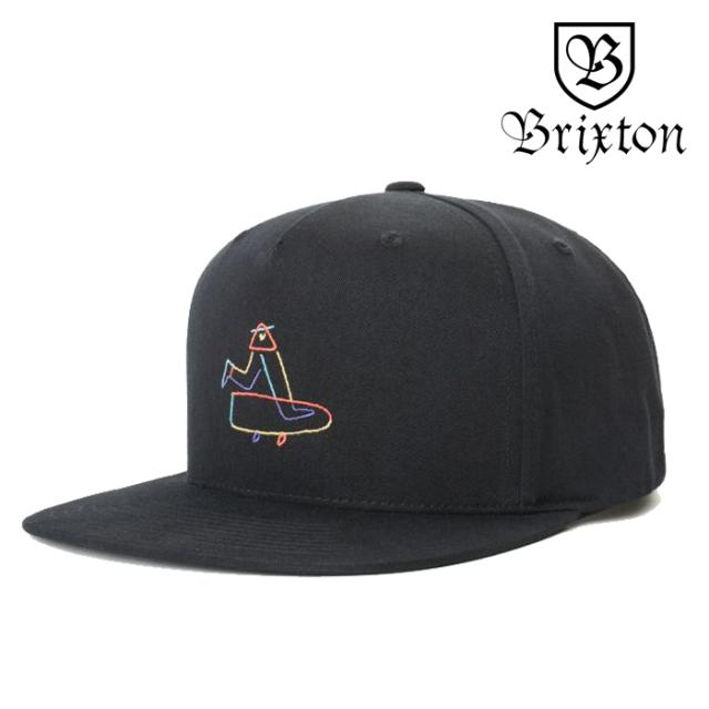 BRIXTON(ブリクストン) BEAUFORT MP SNAPBACK CAP 【スナップバックキャップ 帽子】【2020SPRING新作】【ルーカス・ビューフォート