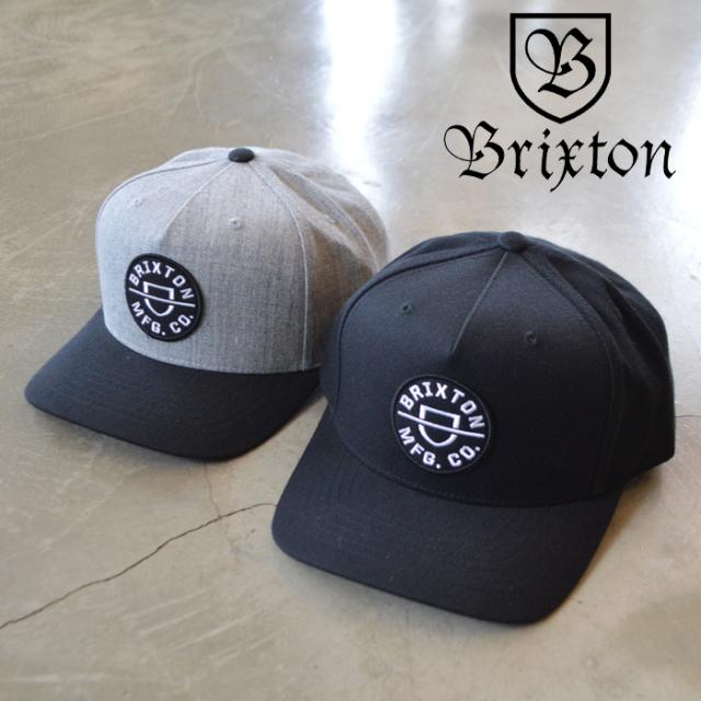 BRIXTON(ブリクストン) CREST C MP SNAPBACK 【キャップ 帽子】【2020HOLIDAY新作】