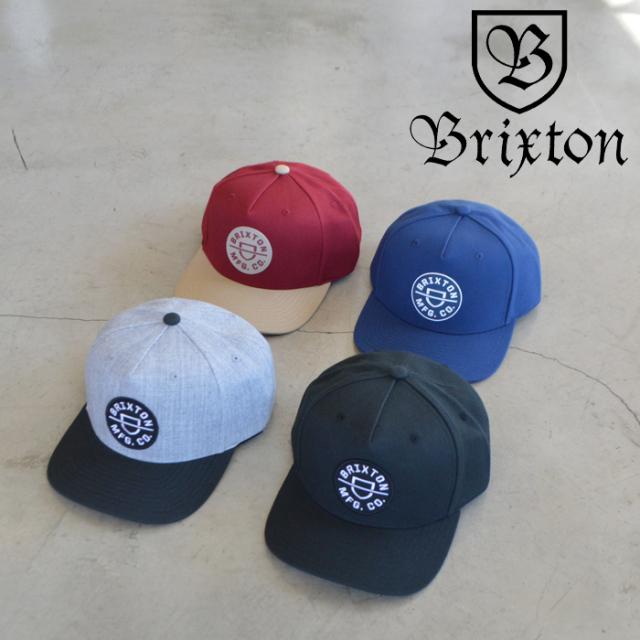 BRIXTON(ブリクストン) CREST C MP SNAPBACK 【キャップ 帽子】【2021 SPRING新作】