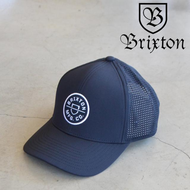 BRIXTON(ブリクストン) CREST X MP SNAPBACK (BLACK) 【キャップ 帽子】【ブリクストン キャップ】【定番 人気 シンプル】