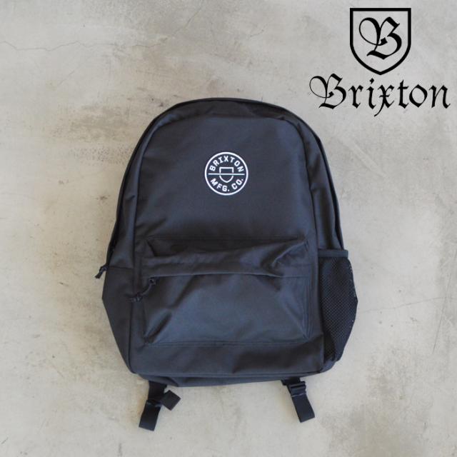 BRIXTON(ブリクストン) CREST BACKPACK 【リュック バックパック 定番 人気 シンプル】