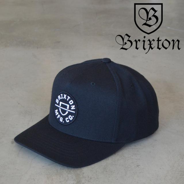 BRIXTON(ブリクストン) CREST C MP SNAPBACK 【キャップ 帽子】【2020FALL新作】