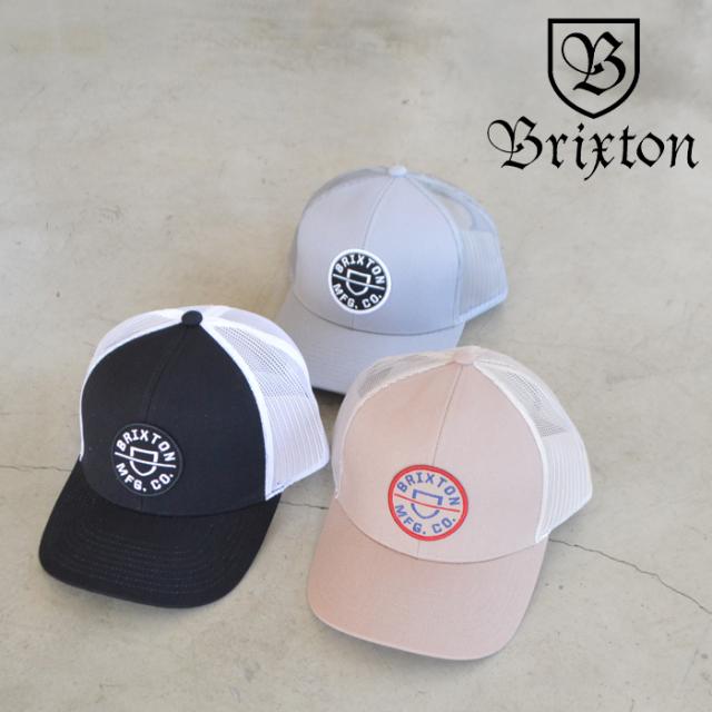 BRIXTON(ブリクストン) CREST X MP MESH CAP 【メッシュ キャップ 帽子】【2021 SPRING新作】